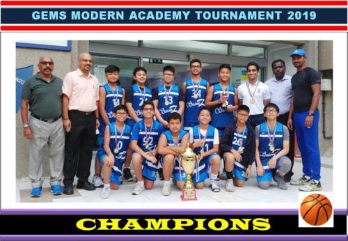 GEMS Modern Academy Tournament 2019