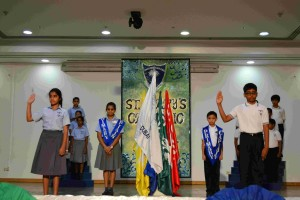 Junior Prefect Investiture Ceremony 2015