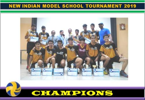 New Indian Model School Tournament 2019