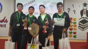 Quiz winners at Al Diyafa