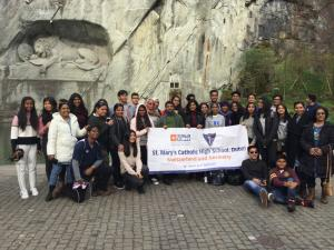 School trip to Zurich - April 2017