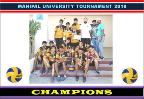 Manipal University Tournament 2019